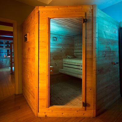 Salle de sauna